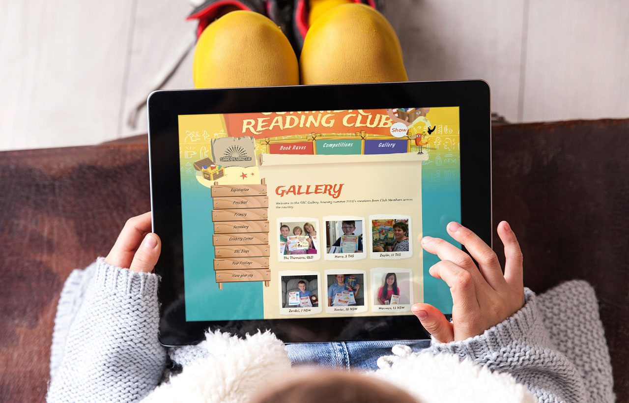 Summer Reading Club 2014 website
