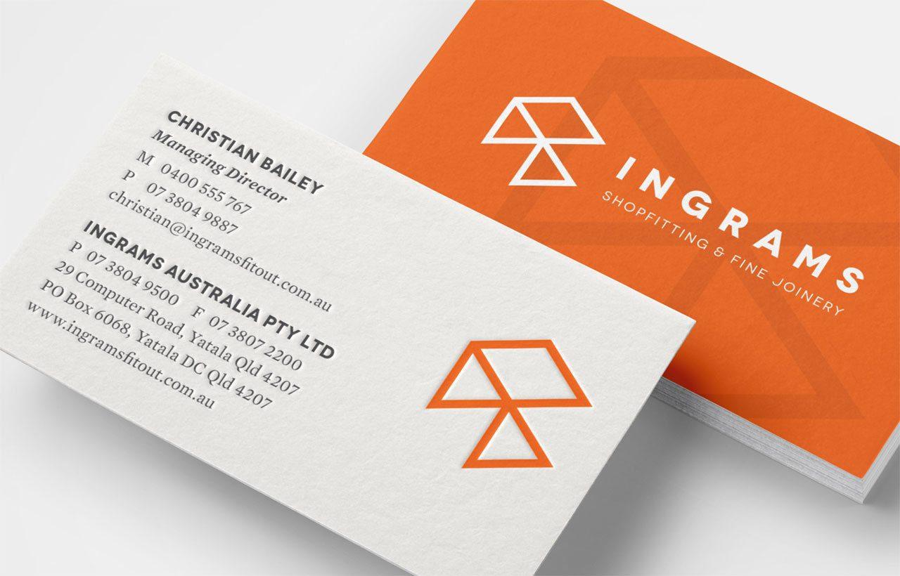 Ingram business card
