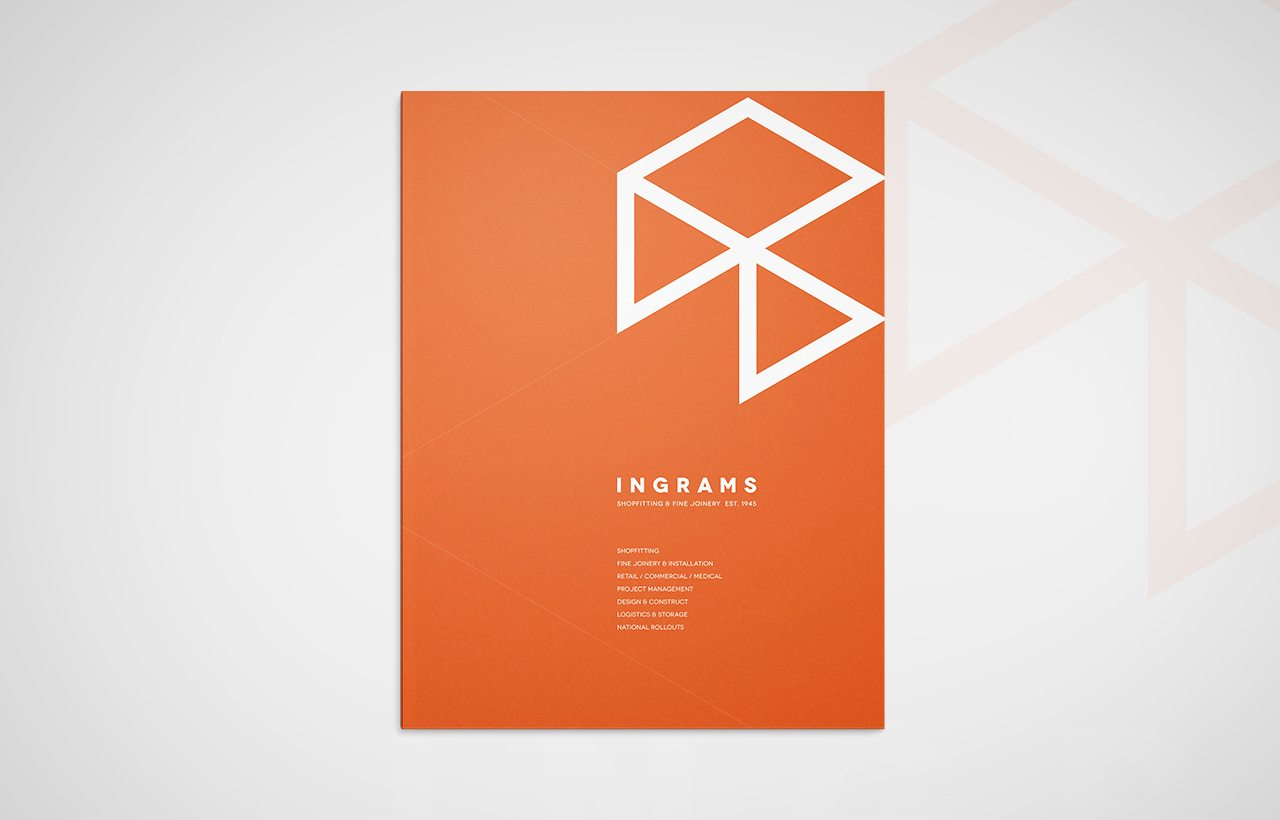 Ingrams corporate brochure cover