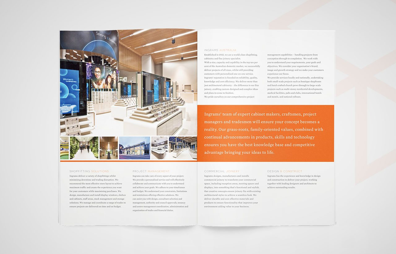 Ingrams Corporate brochure