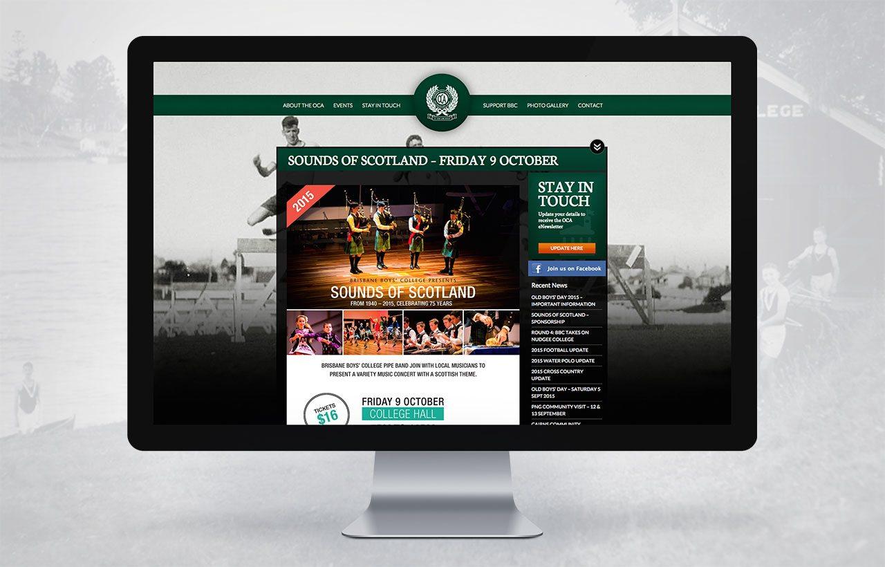 Brisbane Boys College website