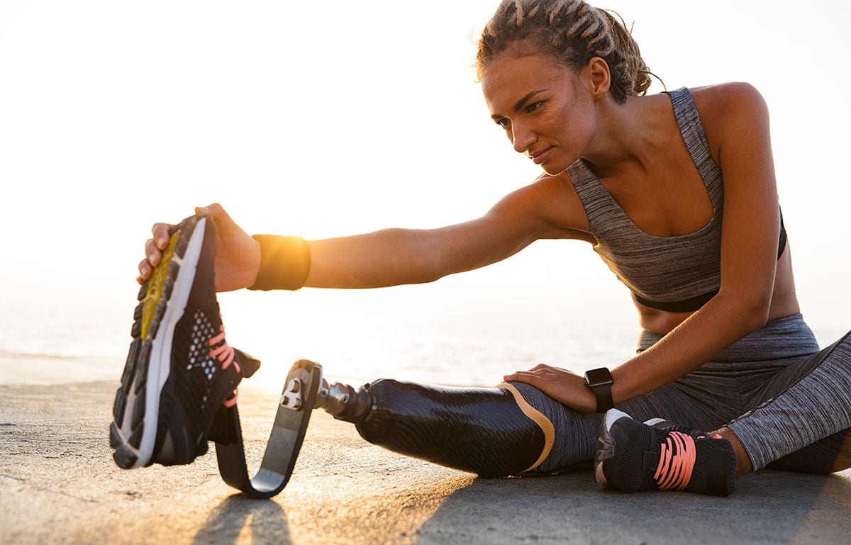 Bionics Queensland athlete