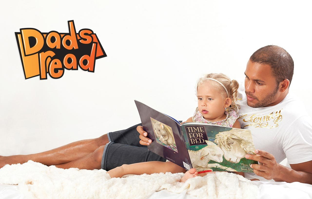 State Library Dad's Read logo