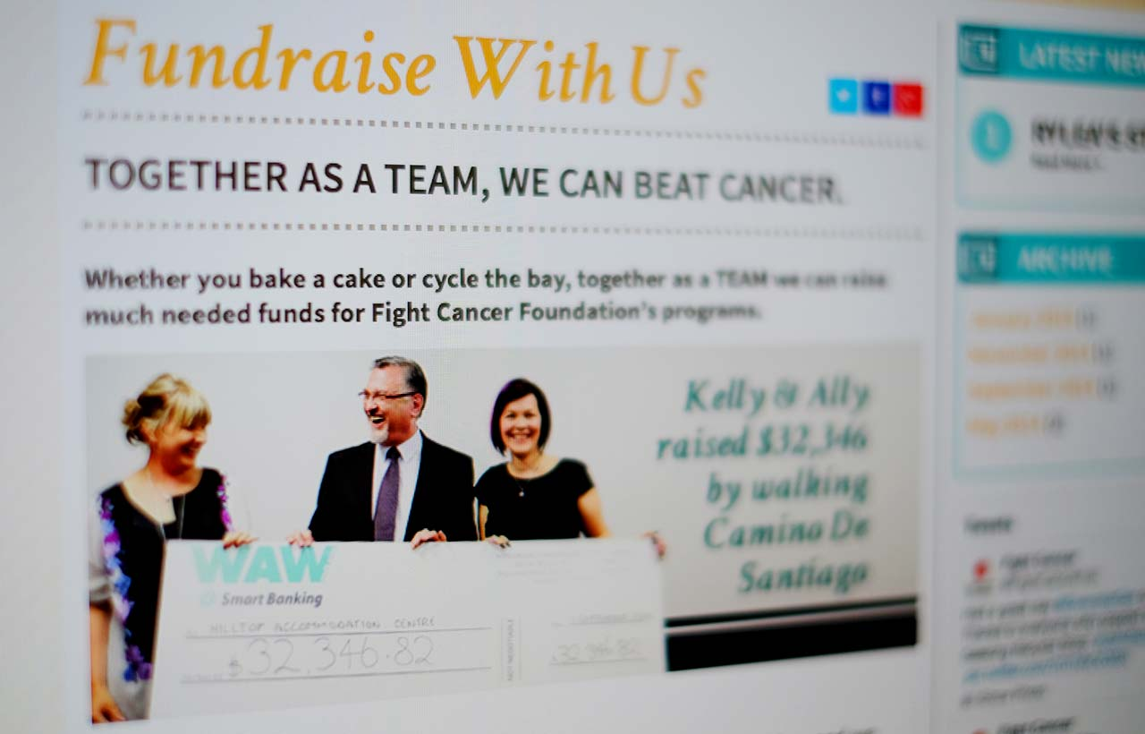 Fight Cancer Foundation website