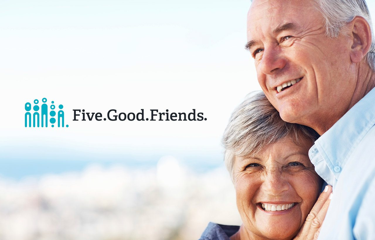 Five Good Friends logo design