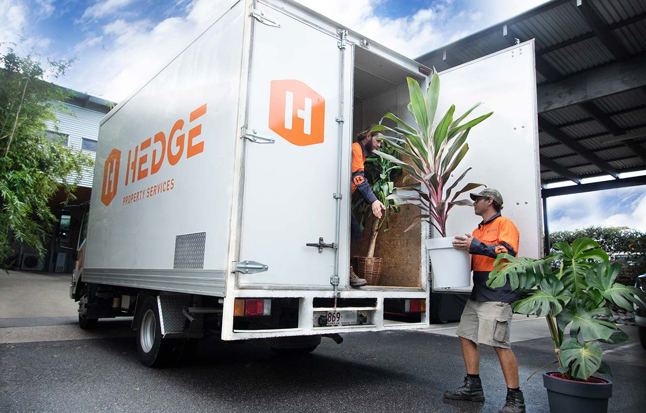 Hedge Property Services Truck