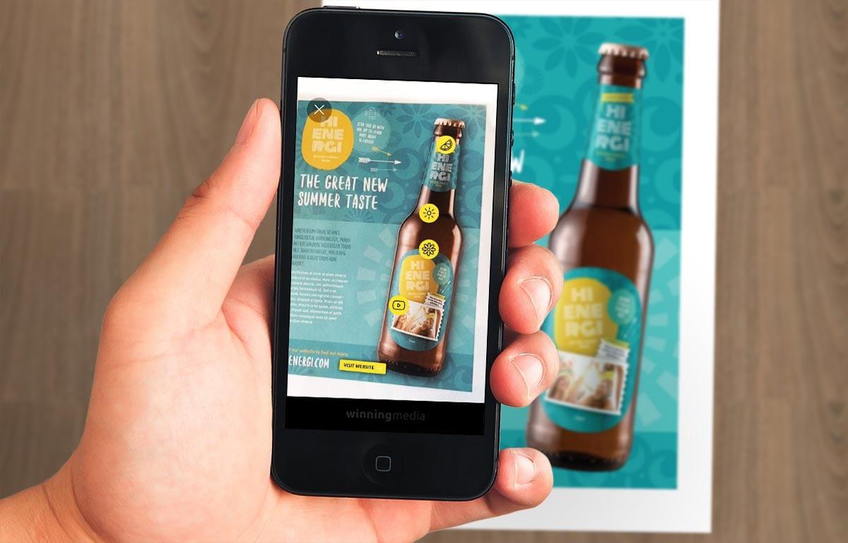 Hi Energi App Augmented Reality Target