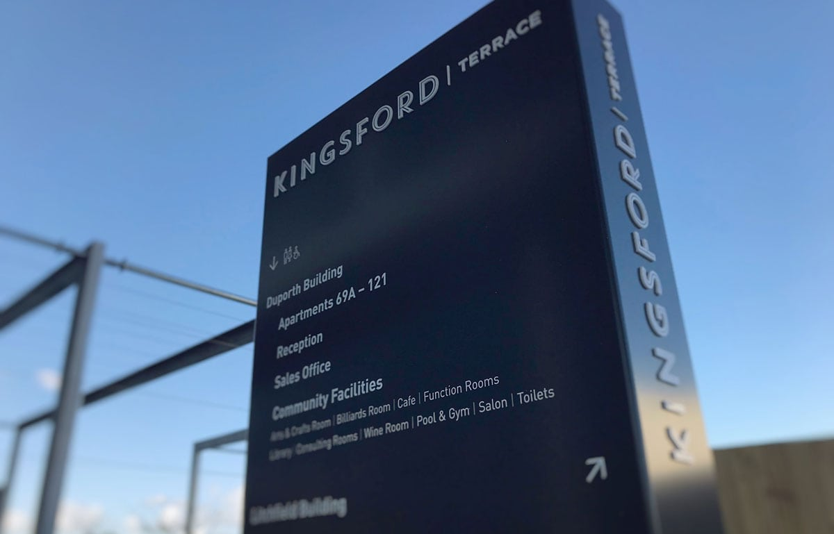 Kingsford Terrace Exterior Sign
