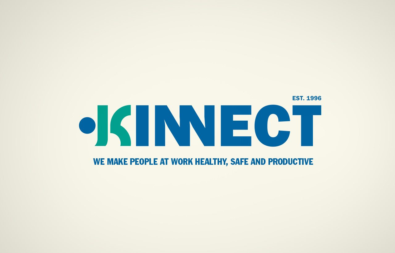 Kinnect logo design