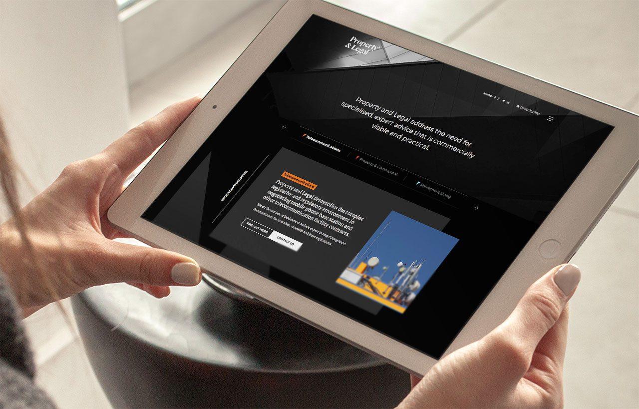 Property & Legal iPad