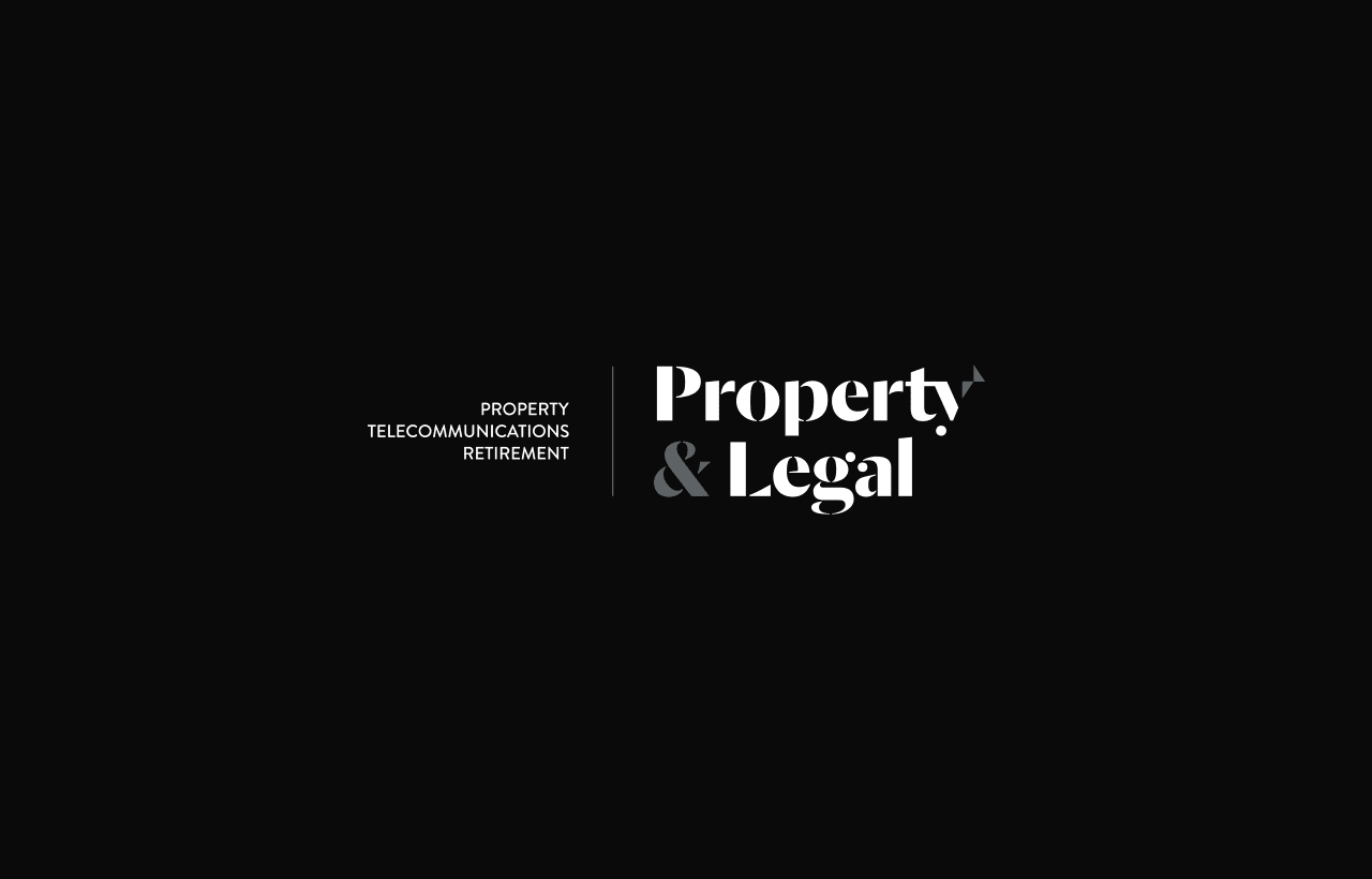 Property & legal logo design