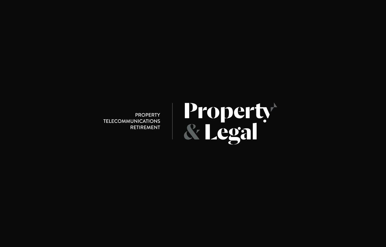 Property & legal logo design