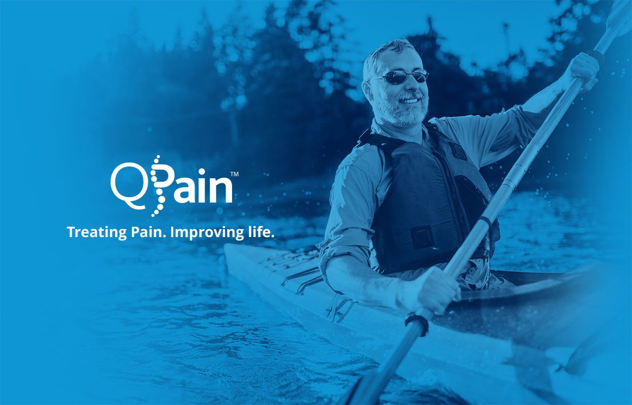 QPain logo