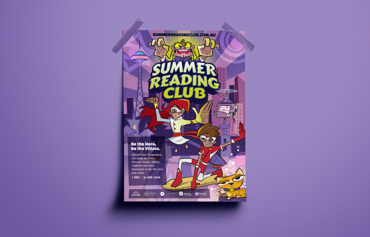 Summer Reading Club 2016 poster