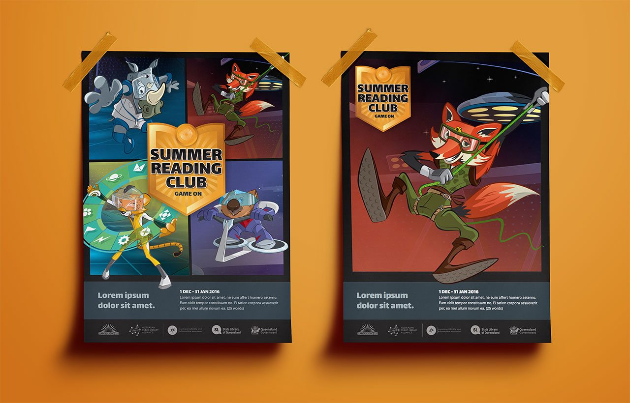 Summer Reading Club 2017 Posters