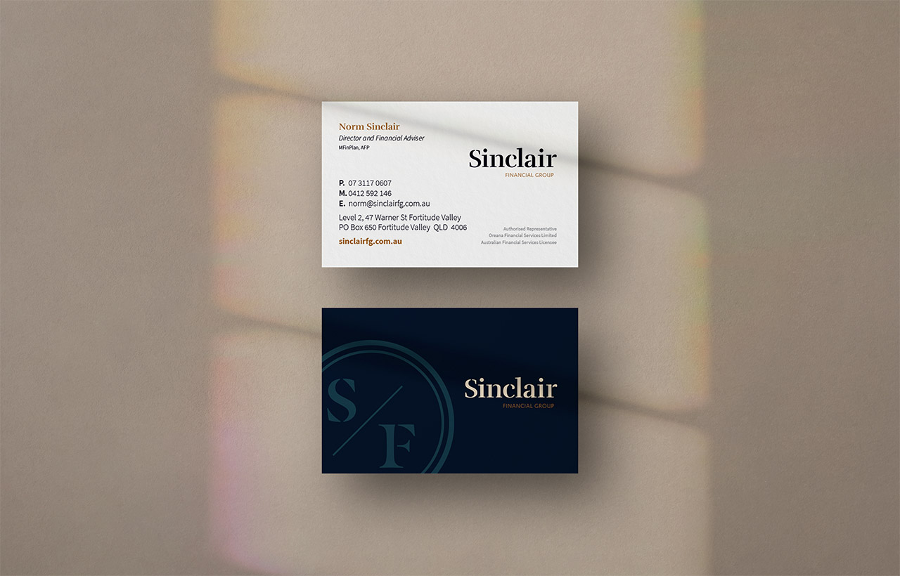 Sinclair Business Card