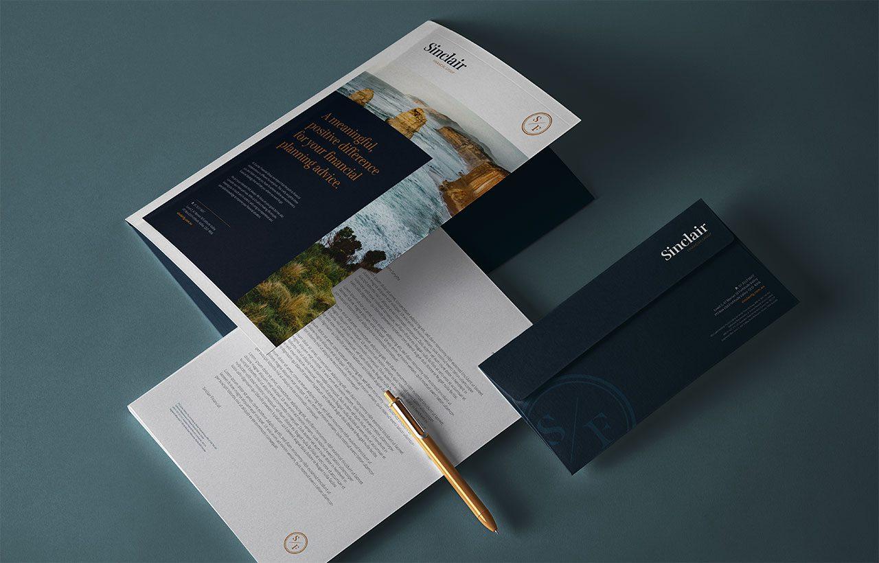 Sinclair Financial Folder & Stationery