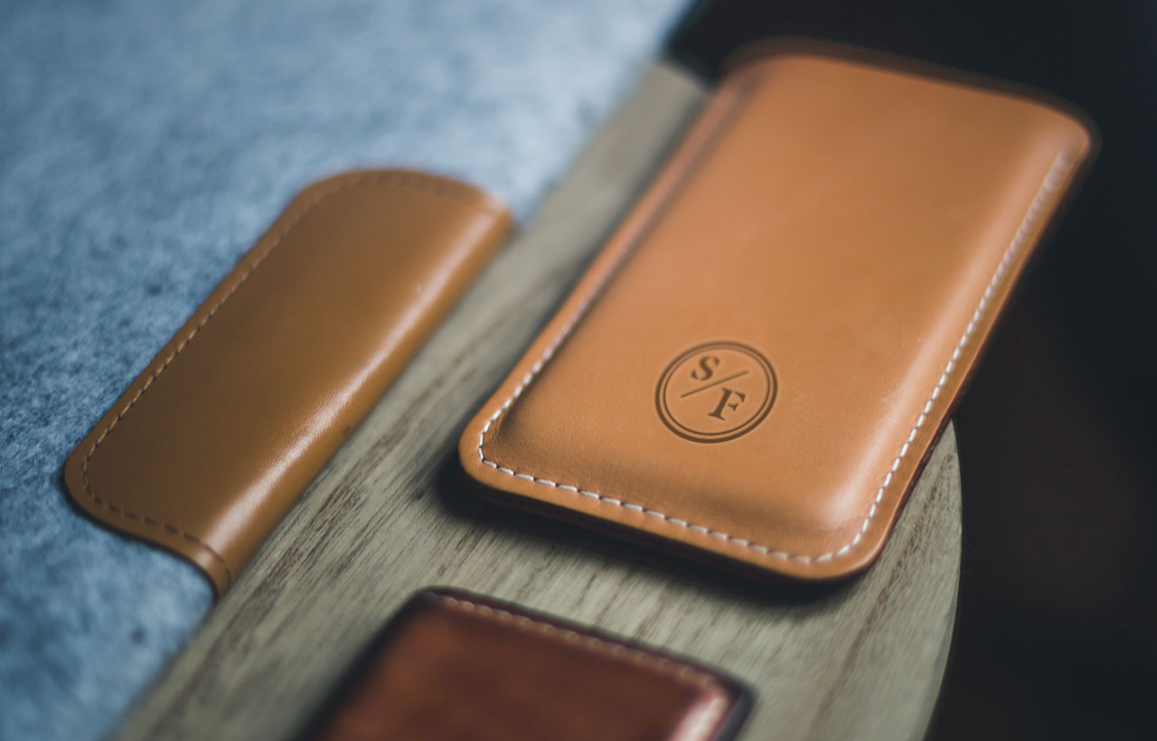 Sinclair Financial Leather emboss