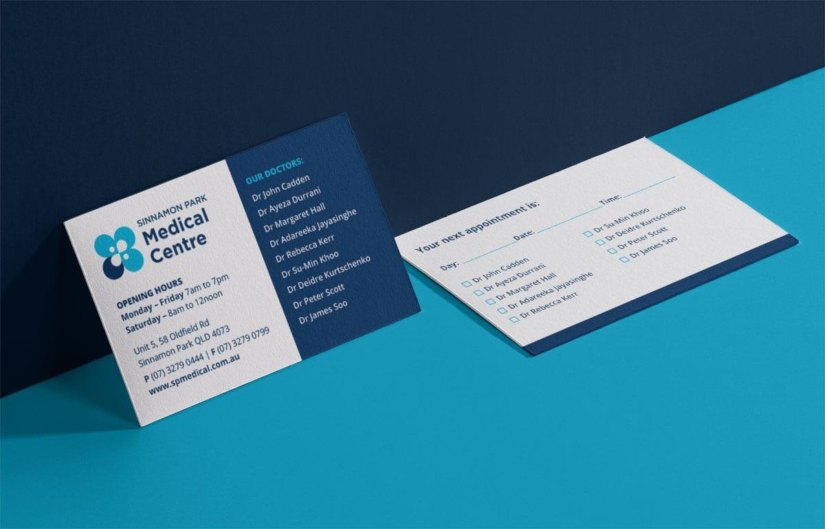 Sinnamon Park Medical Centre Business Card