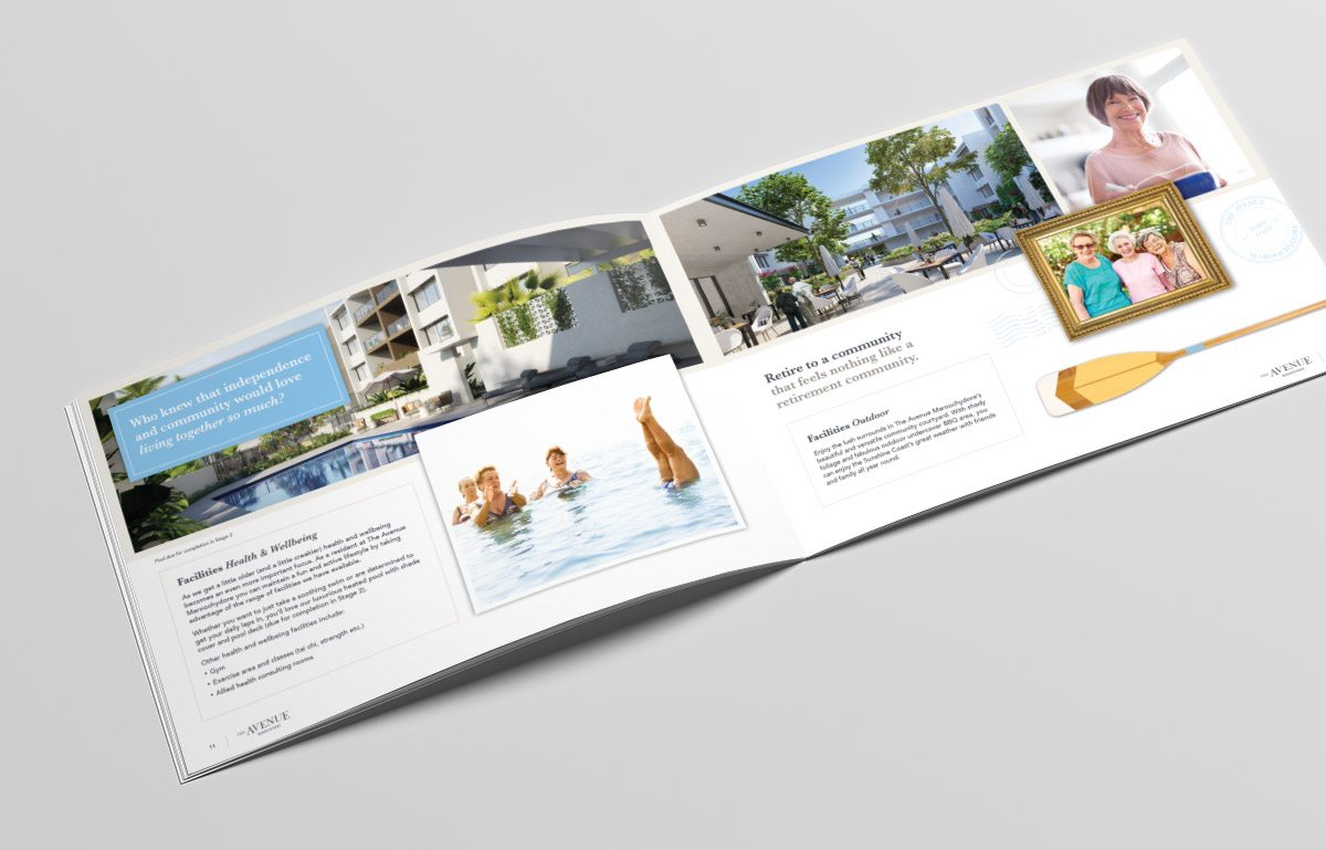The Avenue A3 Brochure
