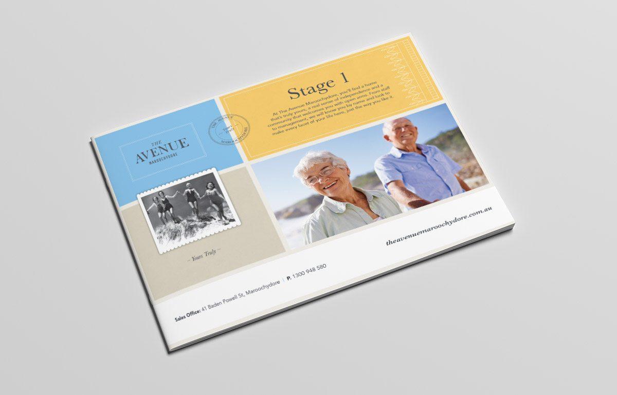 The Avenue A3 Brochure Cover