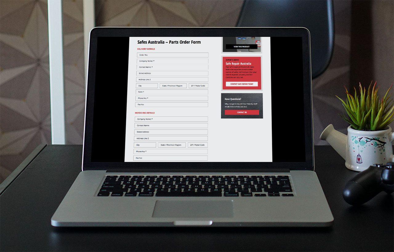 Tank Safes Australia website