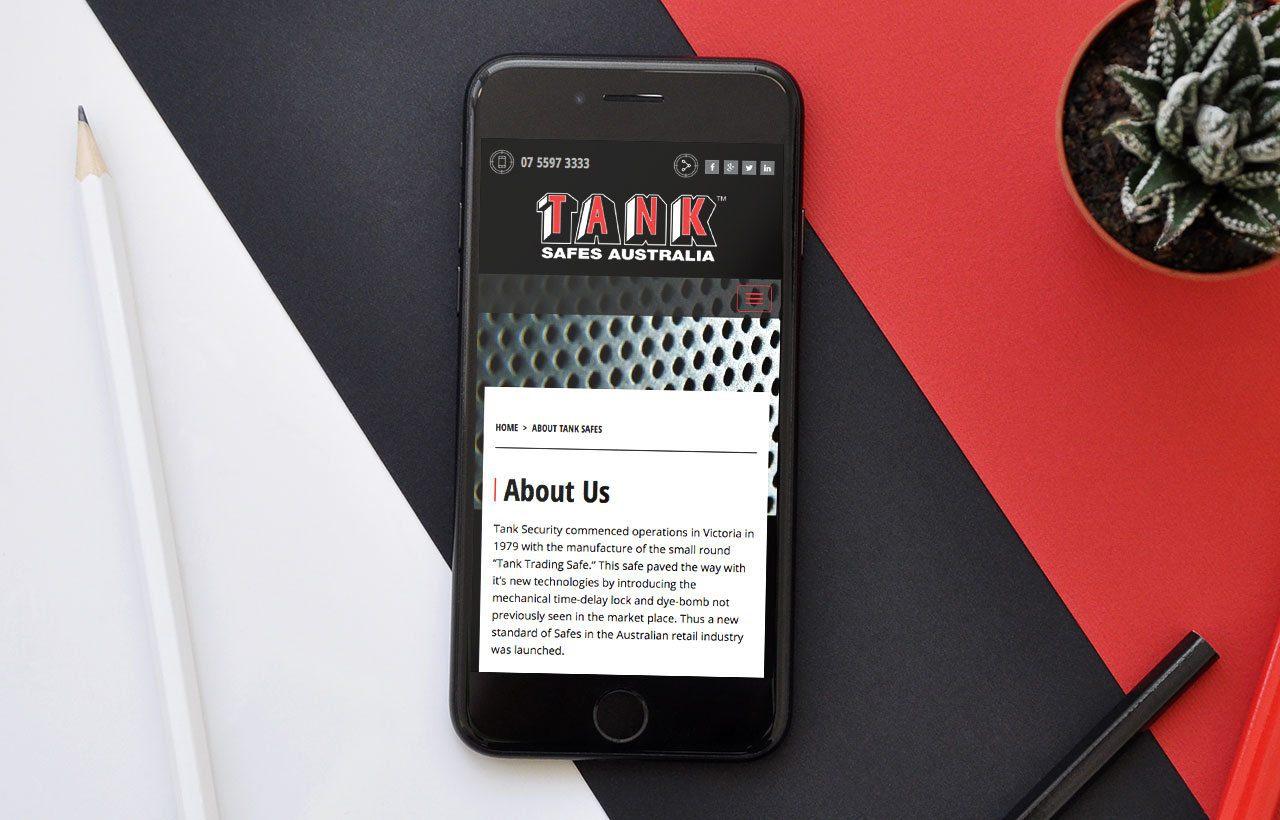 Tank Safes website