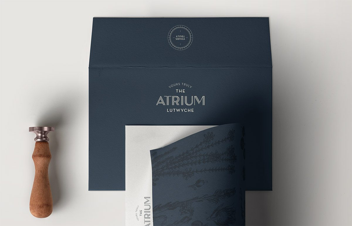 The Atrium Stationery
