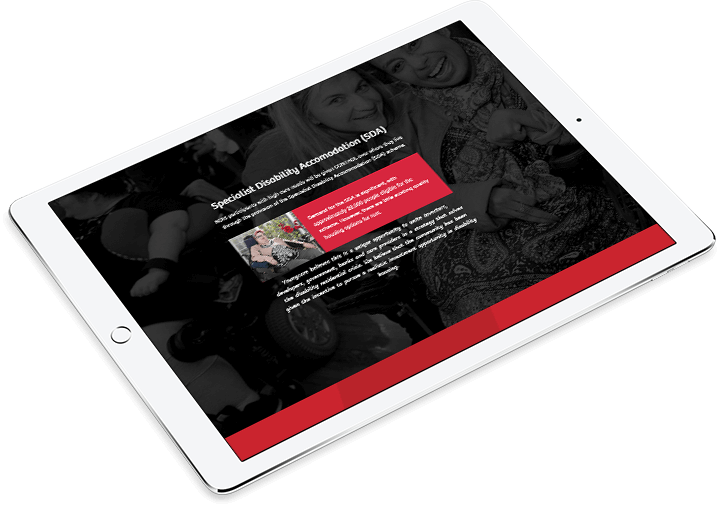Youngcare digital annual report iPad