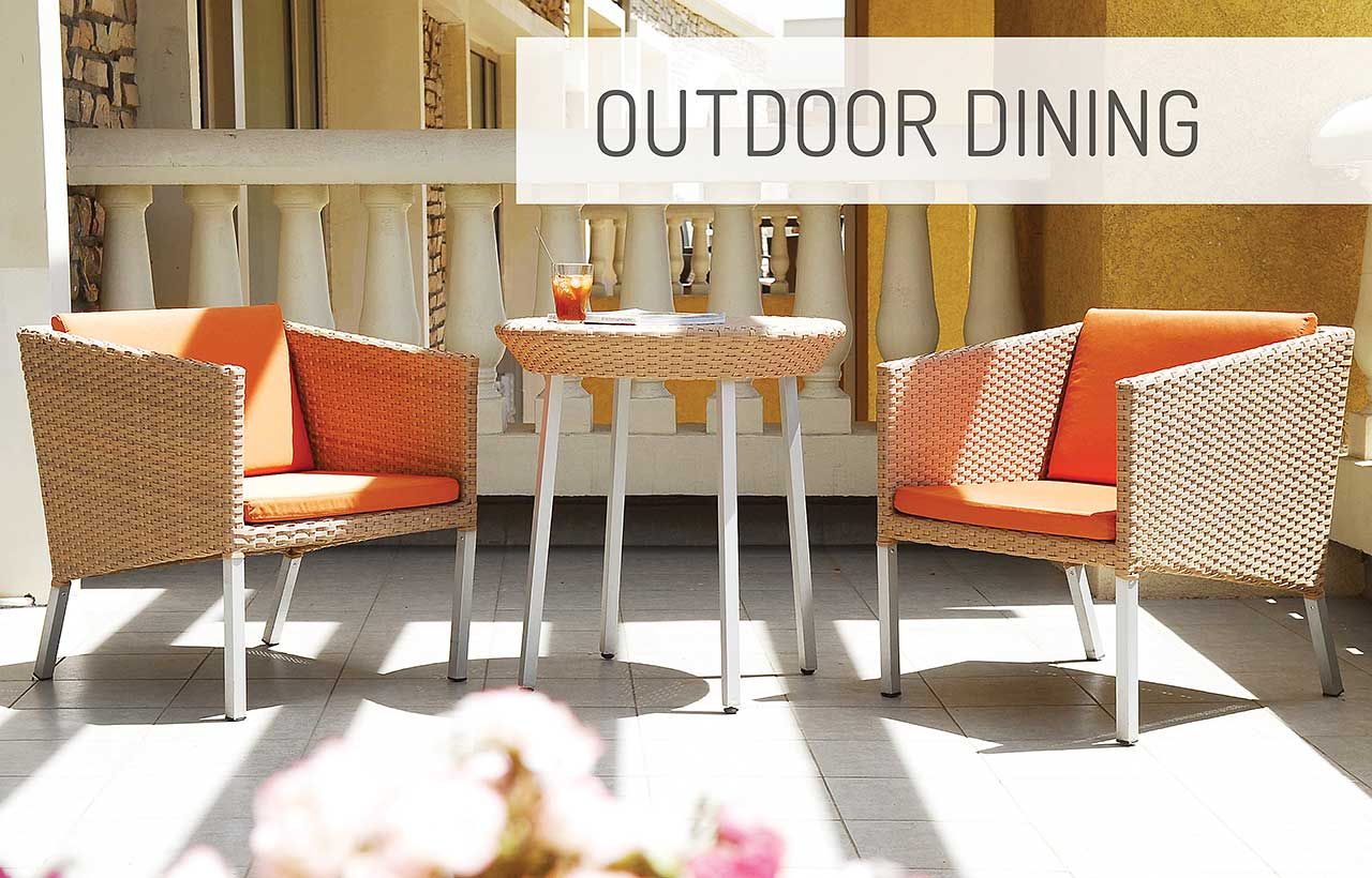 Allstyle Furniture outdoor dining