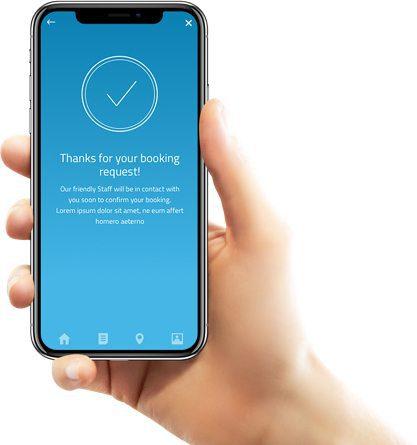 App Booking Request