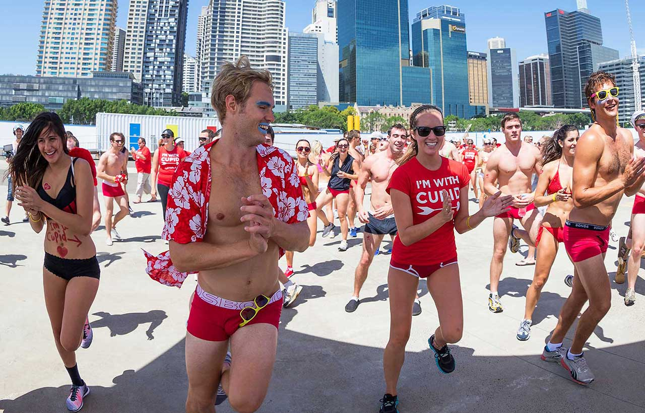 Cupids Undie Run 2015