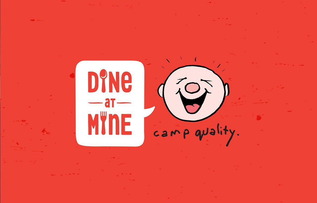 Camp Quality Dine at Mine logo