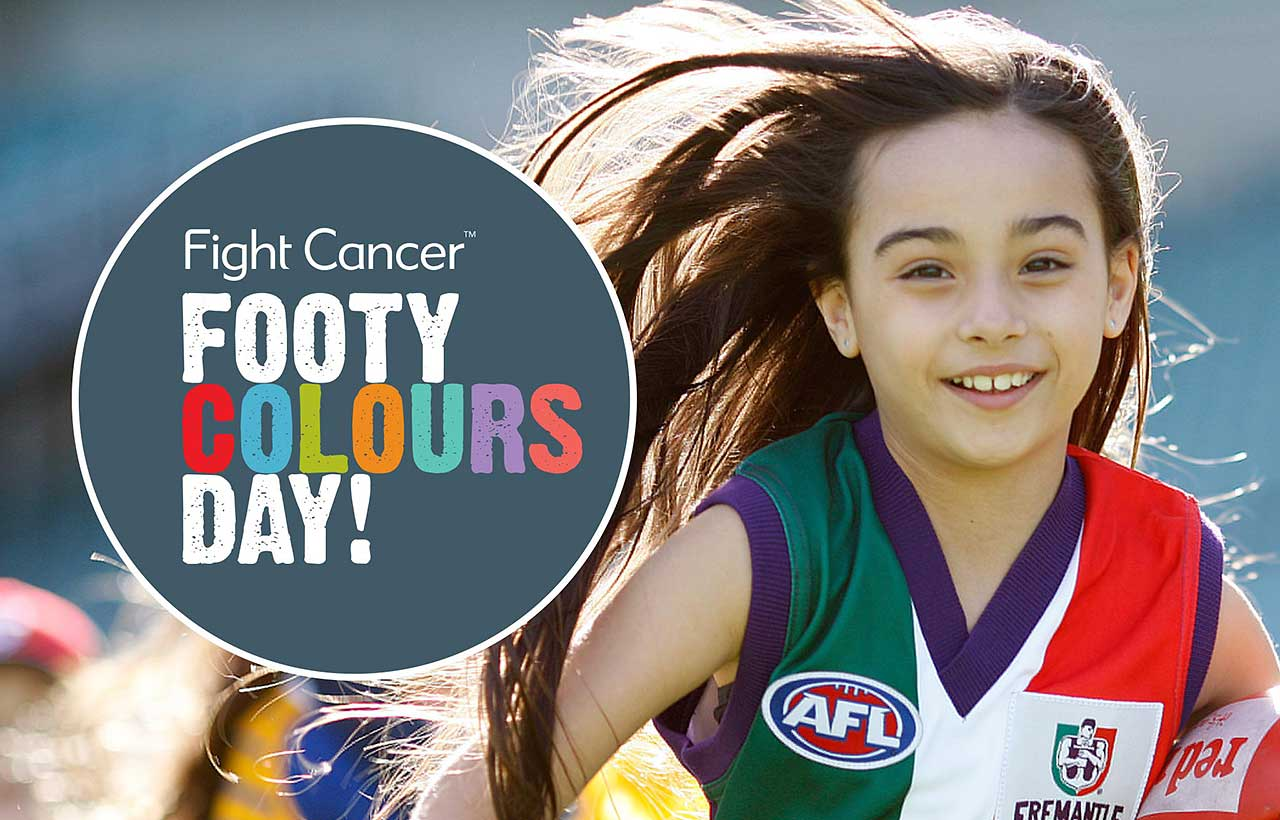 Footy Colours Day logo