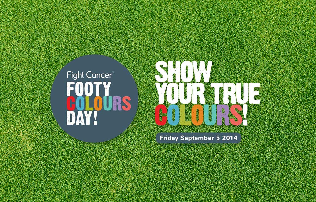 Footy Colours Day logos